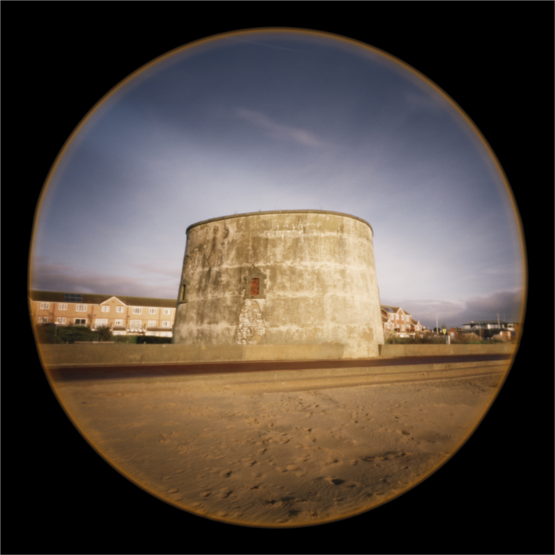 Martello Tower E, Clacton Wash, Essex, England
