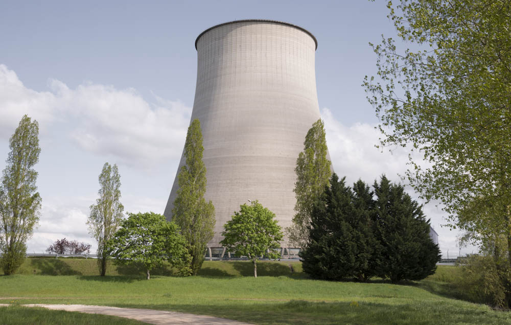 Nuclear Power Station Cooling Towers, Belleville, France