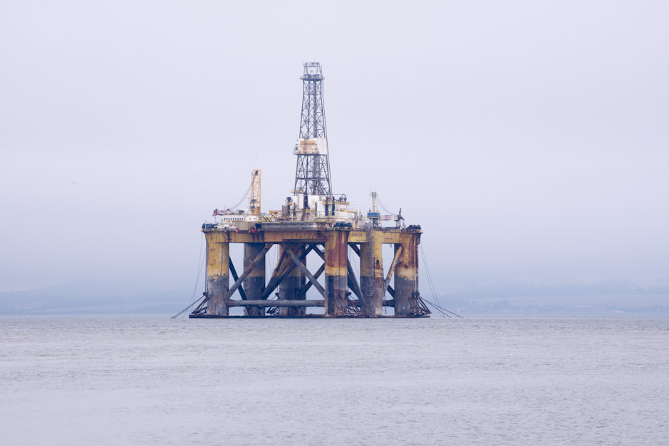 TLP Oil Rig, Cromarty Firth, Scotland