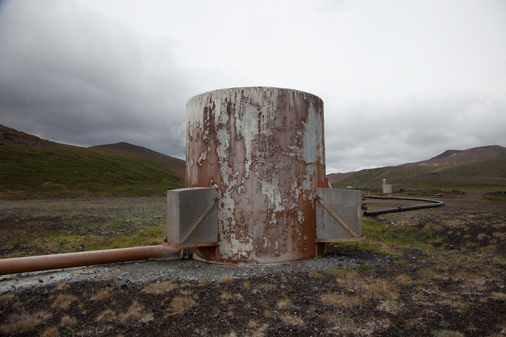Geothermal Power Plant, Krafla, Iceland