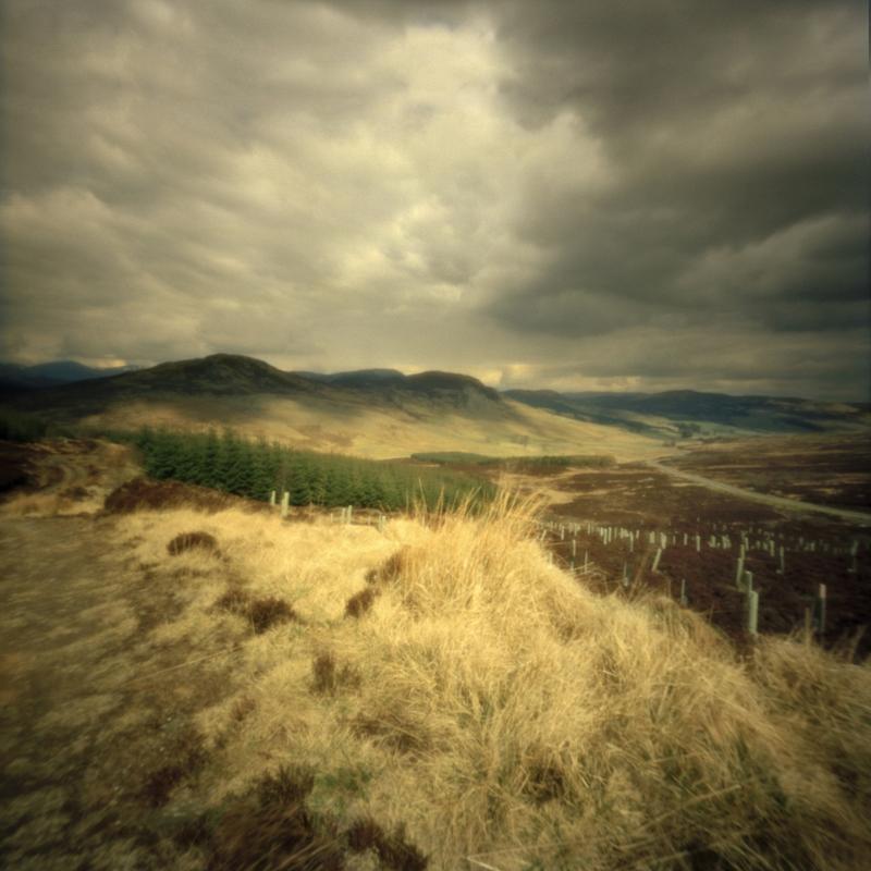 Storm, Moulin Moor, Perthshire, Scotland