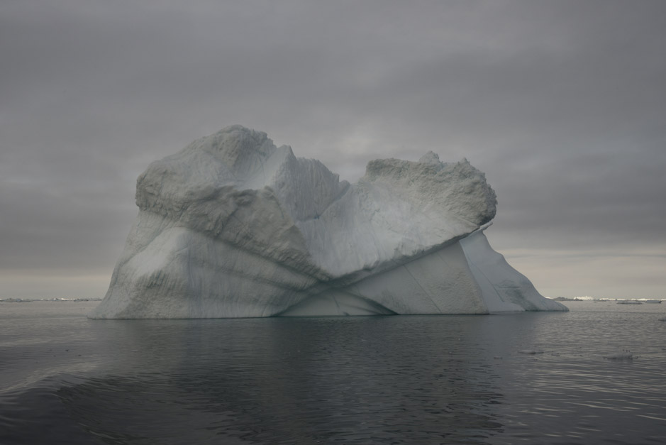 Water held by the cold, Disko Bay, Greenland