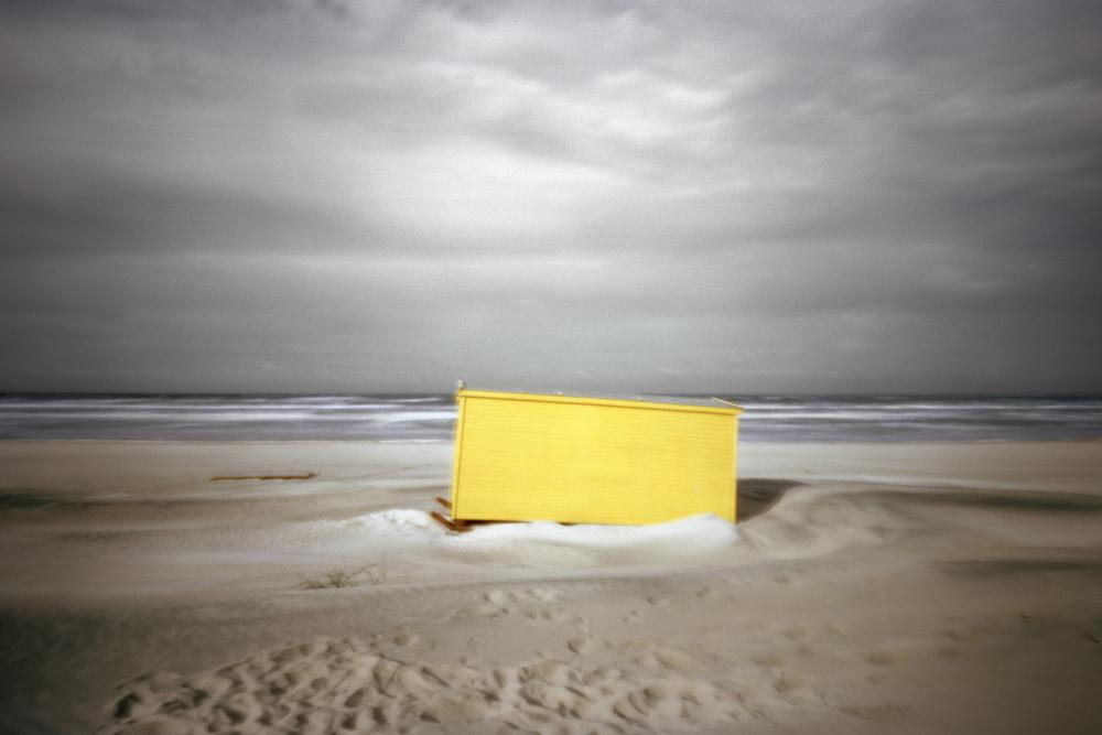 Yellow Hut, Nida, Lithuania