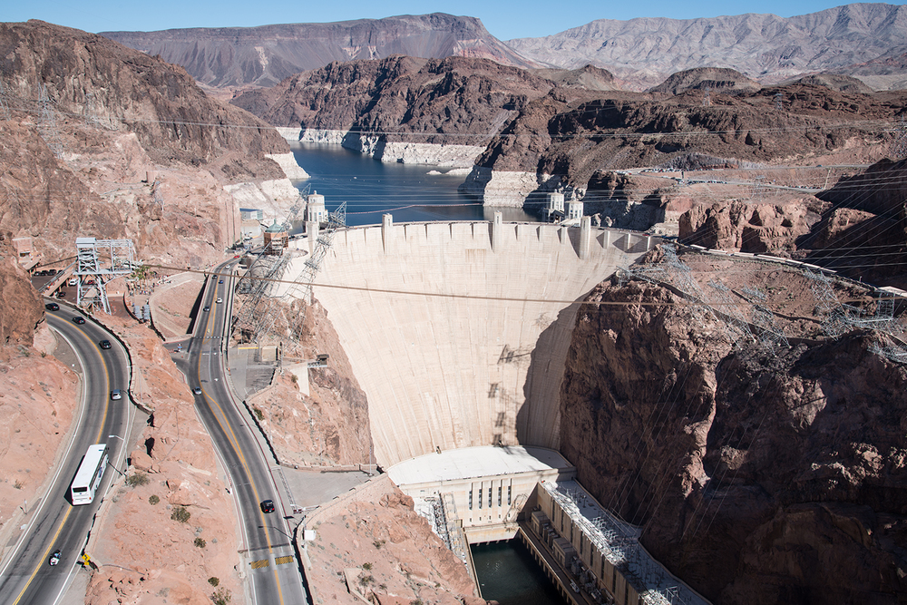 Hoover Dam, Arizona / Nevada border, USA