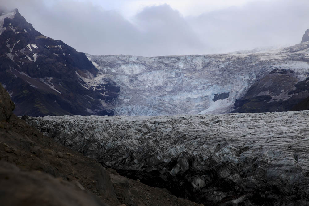 Hvannadalshnukur Glacier, Iceland