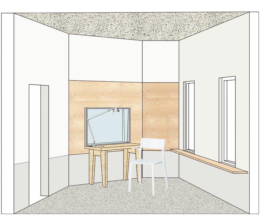 Singer booth design recording studio