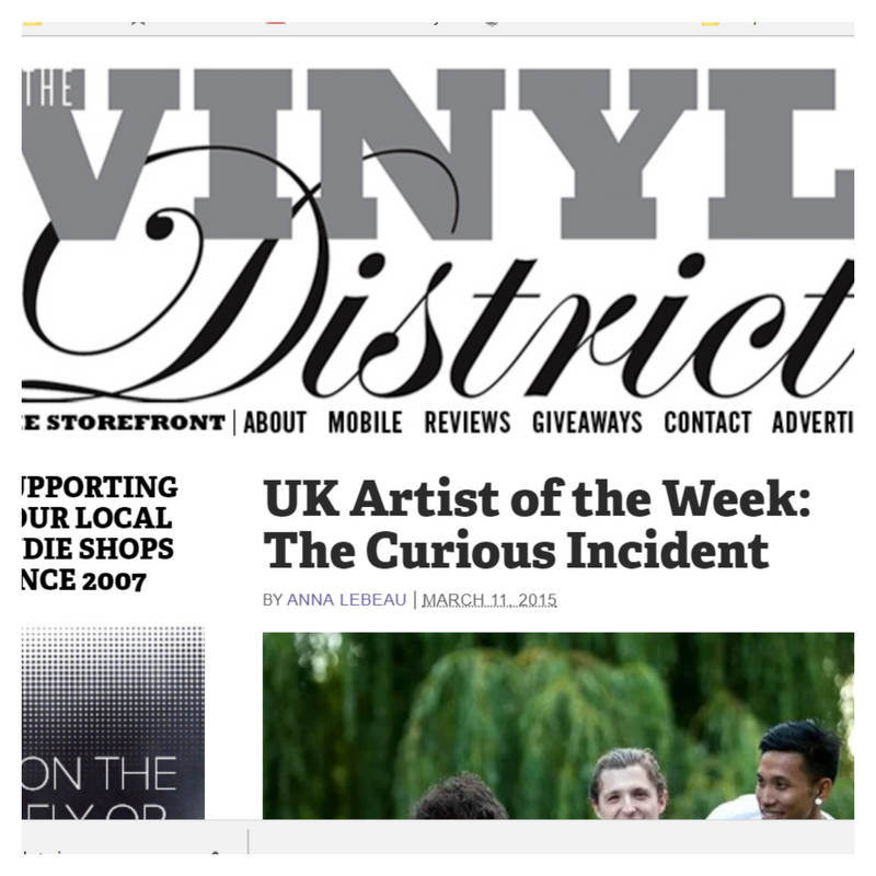 Vinyl District Artist of the Week