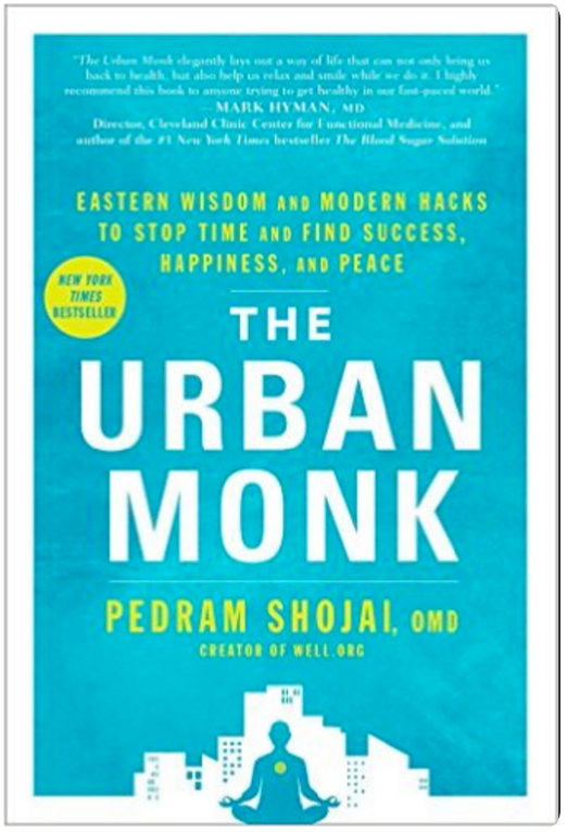 The Urban Monk: Eastern Wisdom and Modern Hacks to Stop Time and Find Success, Happiness, and Peace by Pegram Shojai