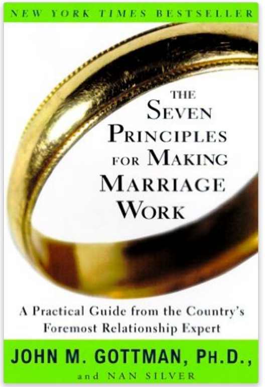 The Seven Principles for Making Marriage Work: A Practical Guide from the Country's Foremost Relationship Expert by John M. Gottman