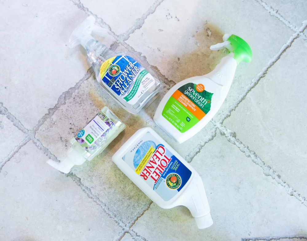 Bathroom Cleaners — LIFE SMART by Carrie Dorr