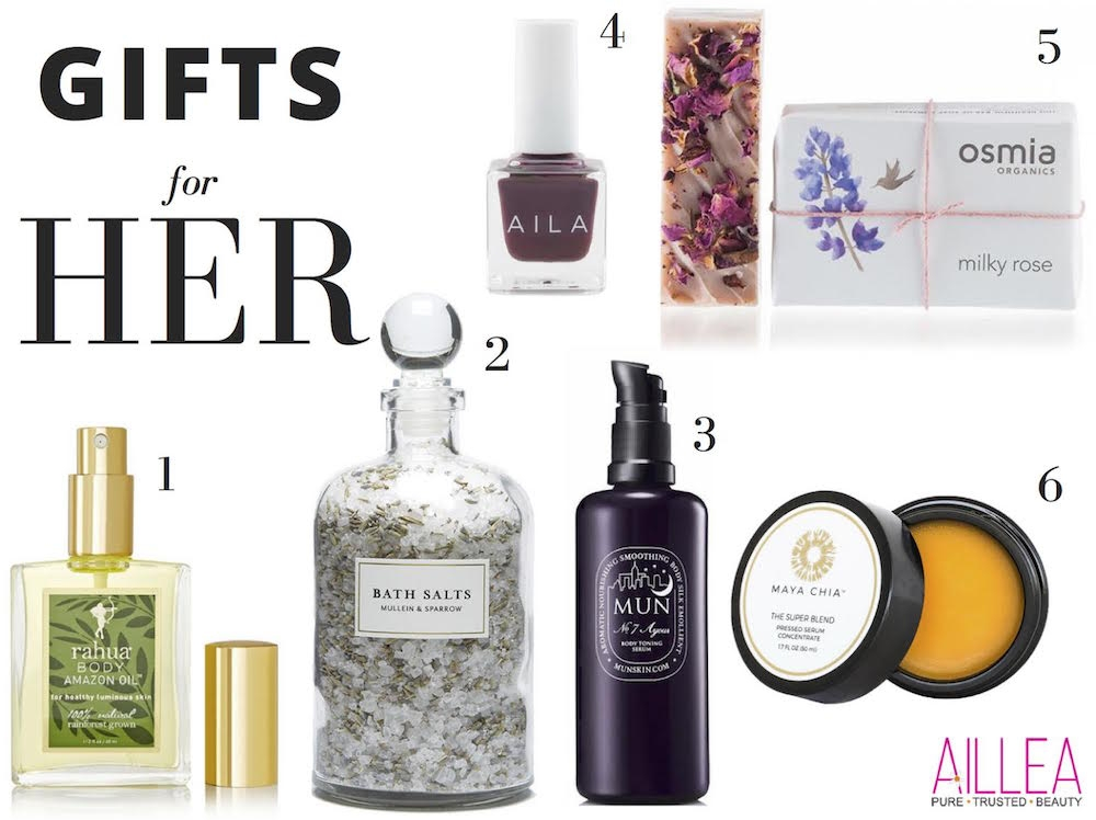 Clean Beauty Gift Guide by Kathryn Dickinson-LIFE SMART by Carrie Dorr
