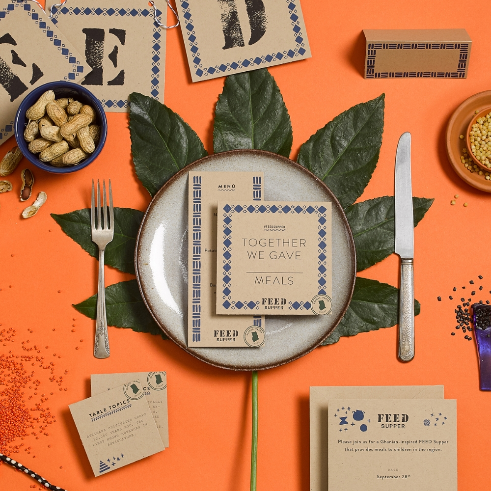 Learn how you can host a FEED Supper where each guest makes a donation to provide meals to children and families in need - happening 9/16 - 10/16.