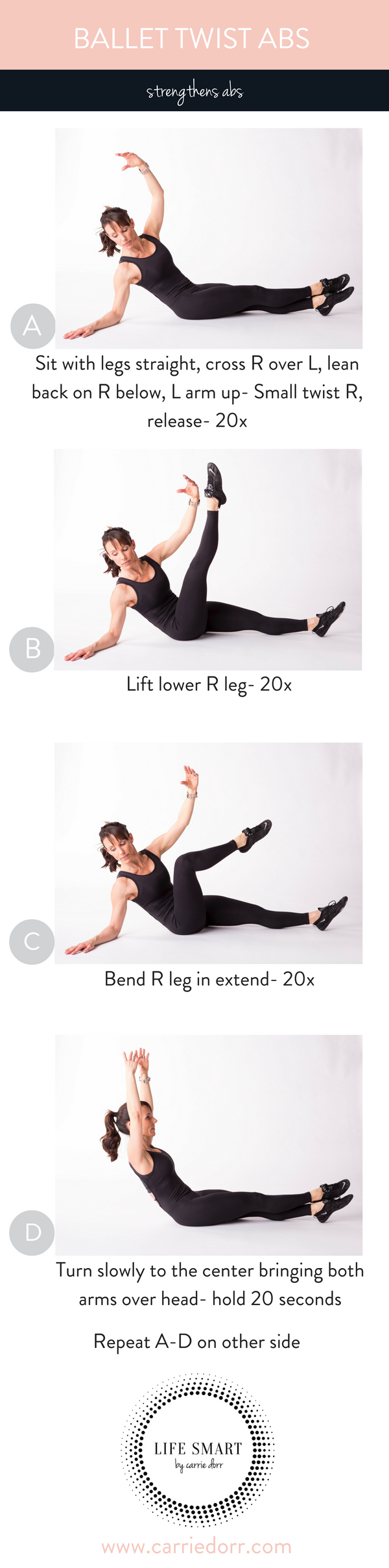Ballet Twist Abs-LIFE SMART by Carrie Dorr