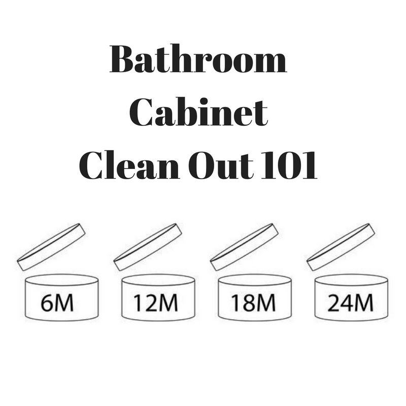 Bathroom Cabinet Clean Out 101