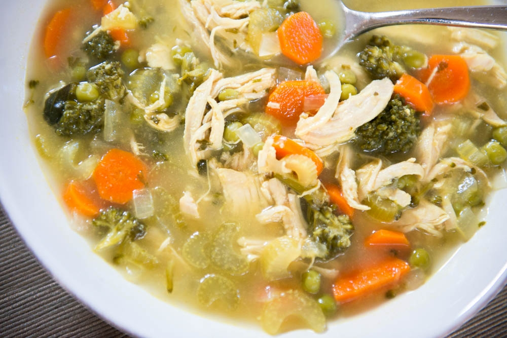 Chicken Detox Soup-LIFE SMART by Carrie Dorr