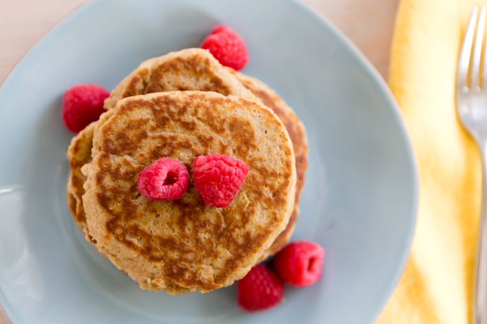 Almond Pancakes-LIFE SMART by Carrie Dorr