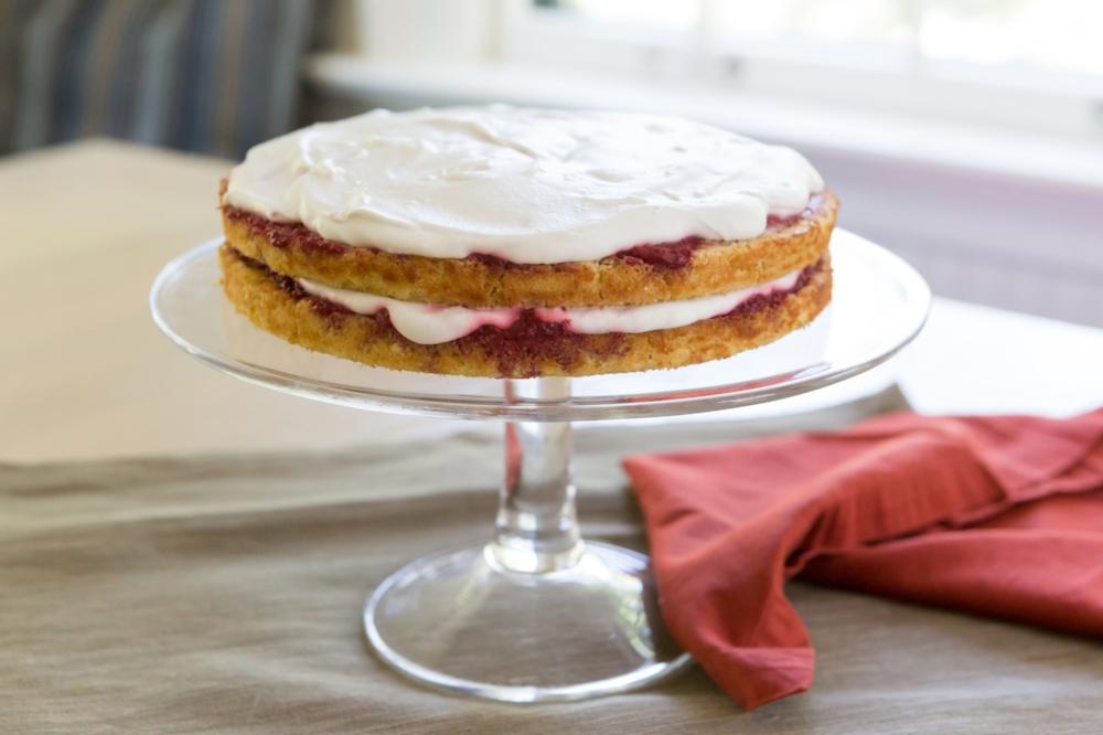 Vanilla Coconut Jam Cake-LIFE SMART by Carrie Dorr