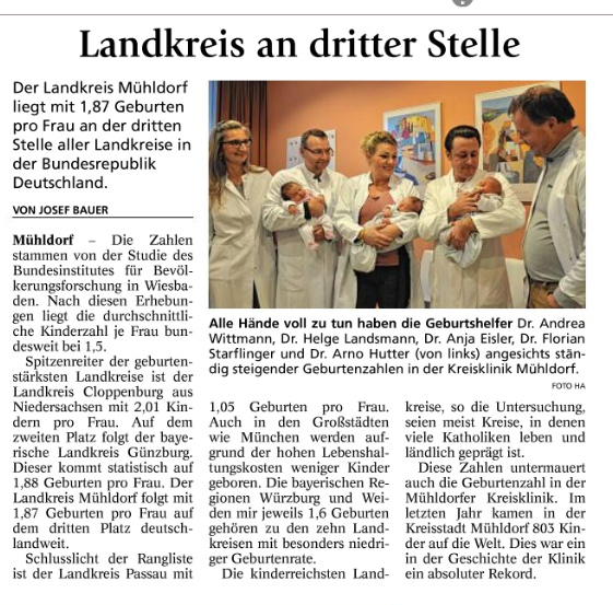 Mit Genehmigung des Mühldorfer Anzeigers