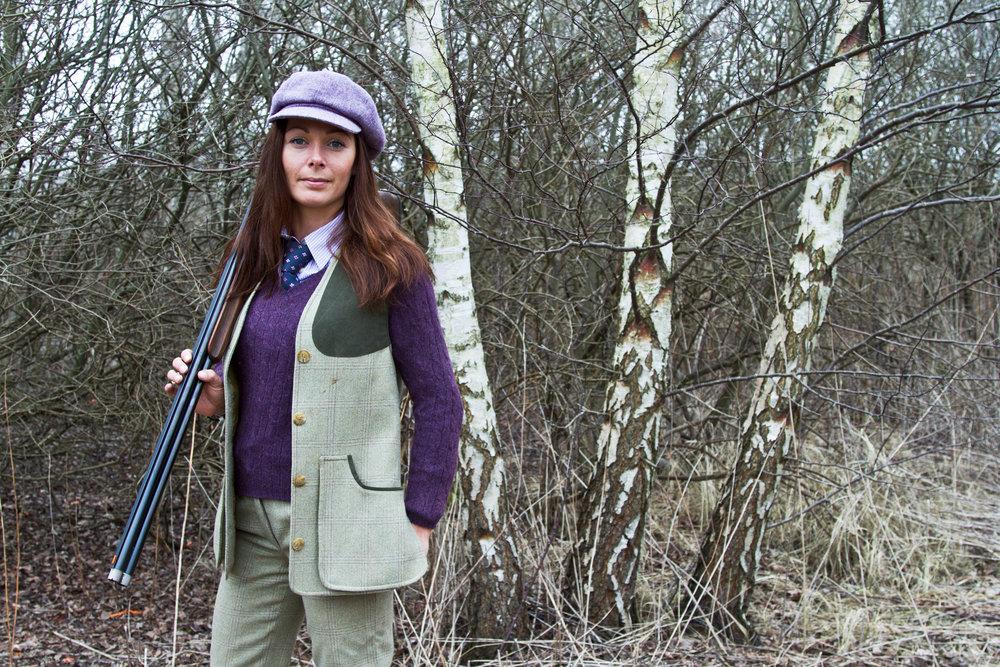 Portrait of shooting instructor Helene Hansen