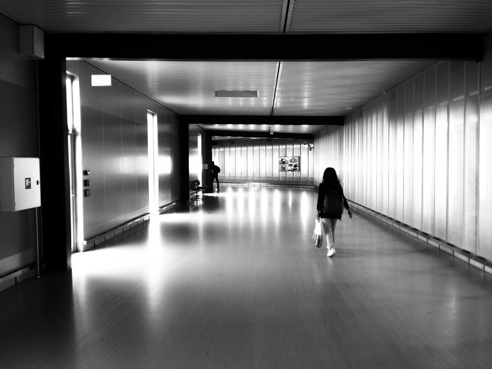 Within Copenhagen/Kastrup's airport terminal