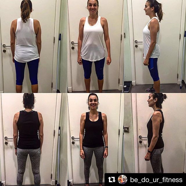 Shout to client Bedour who has been training Post C-Section. Following a 12 week programme focusing strongly on hamstrings, spinal erectors as well as regaining 'core stabilization' to gently bring the abdominal wall back together. Now she has built a solid foundation of strength to build upon and progress from! Lets keep those changes coming, keep it up B! 💪  #Repost @be_do_ur_fitness ・・・ Today was picture comparison day. The top one was when I was 12 weeks post delivery with baby number two (pic taken Jan '16) even though I felt good because I worked out during my pregnancy and ate healthy as well. The bottom (July '16) pictures are a result of my hard work at the gym and eating healthy but not being very strict! I eventually cut down processed sugar and dairy. Of course I would have it as a treat but it's not as appealing to me now like it was before. Want to thank my trainer Anna for being super supportive and persistent 👊🏼😉 @annaholmes_dubaifitness @smartfitnessfan #mydubai #dubaifitfam #determination #motivation #patience #dubaimums #fitmom #fitmummy