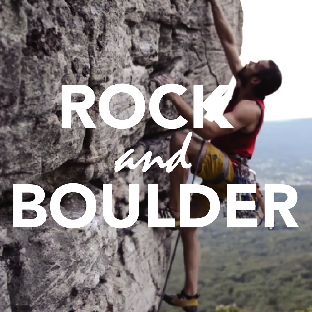 Rock and Boulder