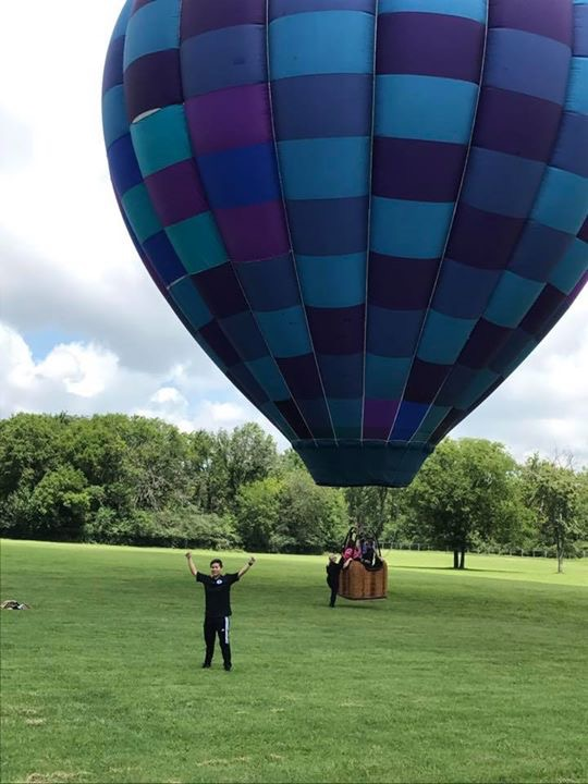 Tethered balloon rides (weather permitting) $5 per person
