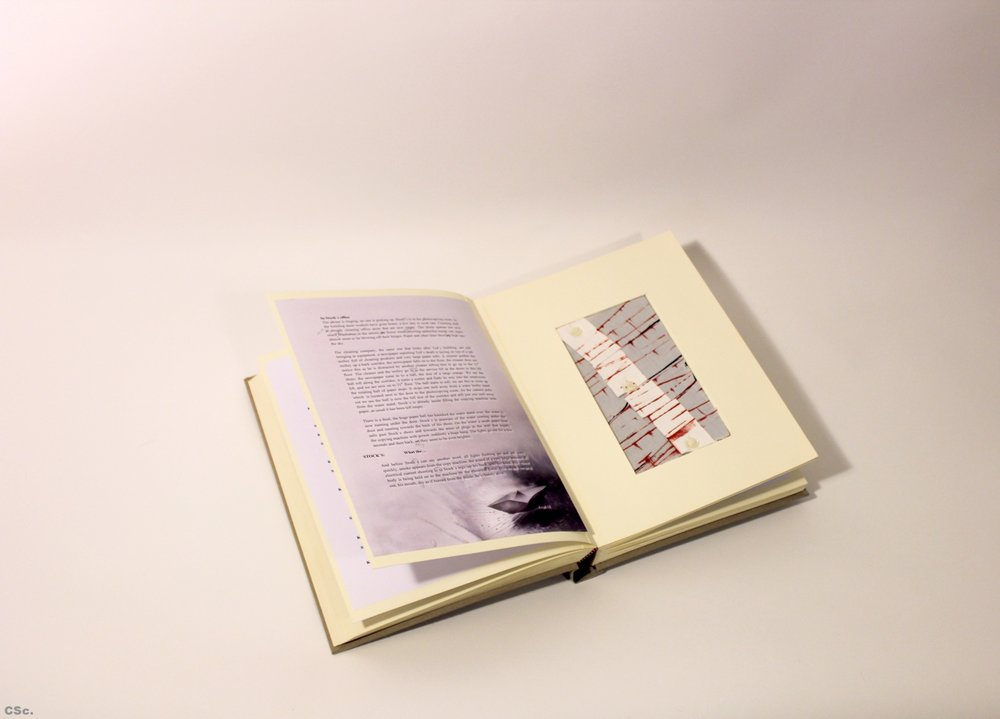 PAPER, hard back version, film script and design, 2013