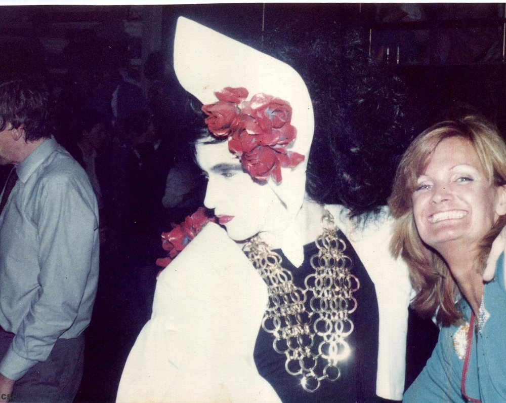 Opening Night at the Camden Palace with Barbra Fredericks, 1982