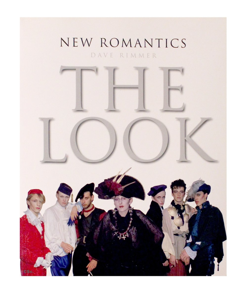 While I'm talking about fools and people not being courteous with credits, shall we look at the cover of Dave Rimmers book? The one were my first muse, Sheena, is on the cover wearing head to toe Swift, shall we look at the biggest photo in the book of two of my early couture outfits worn by clients? That's what I'm talking about, use the photo but give us a fuckin' credit.