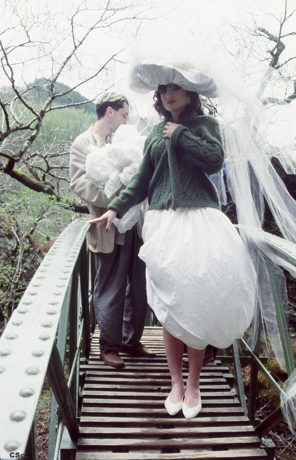 Devil's Bridge North Wales, 1985, documentary photo by Deborah Weinreb