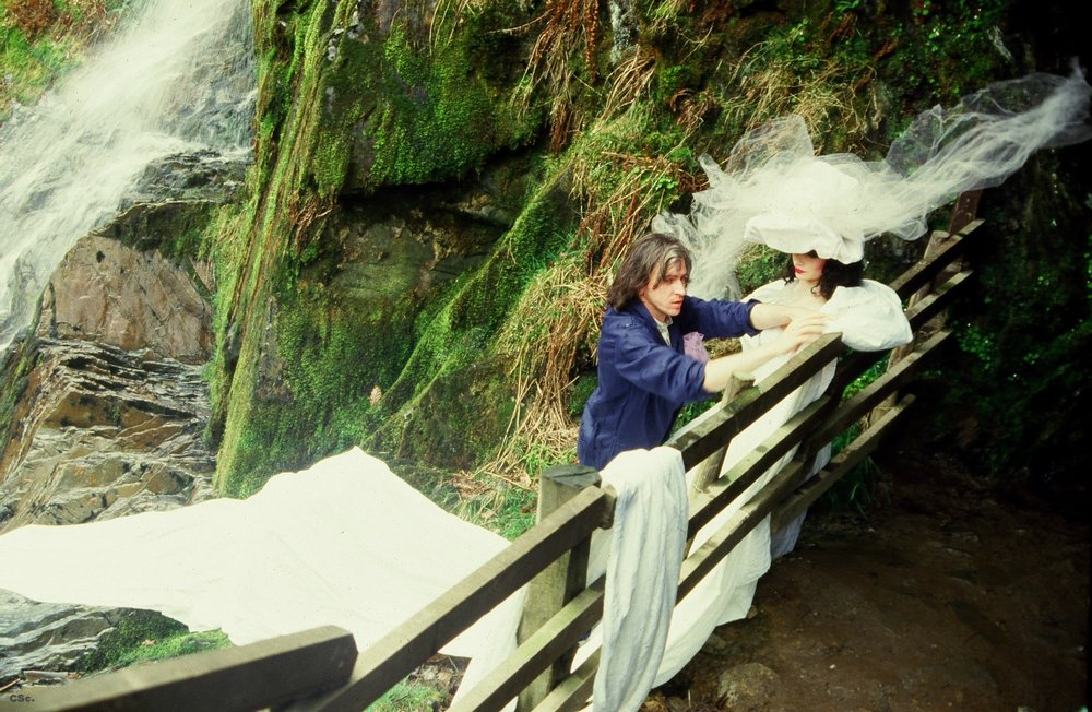 Devil's Bridge North Wales, 1985, documentary photo by Deborah Weinreb