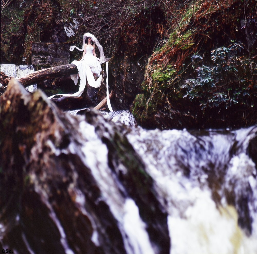 Devil's Bridge North Wales, 1985, photo by Joe Lyons