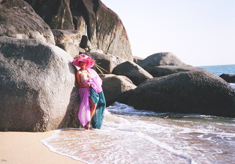 Butterfly Beach, India, Photograph, 1996