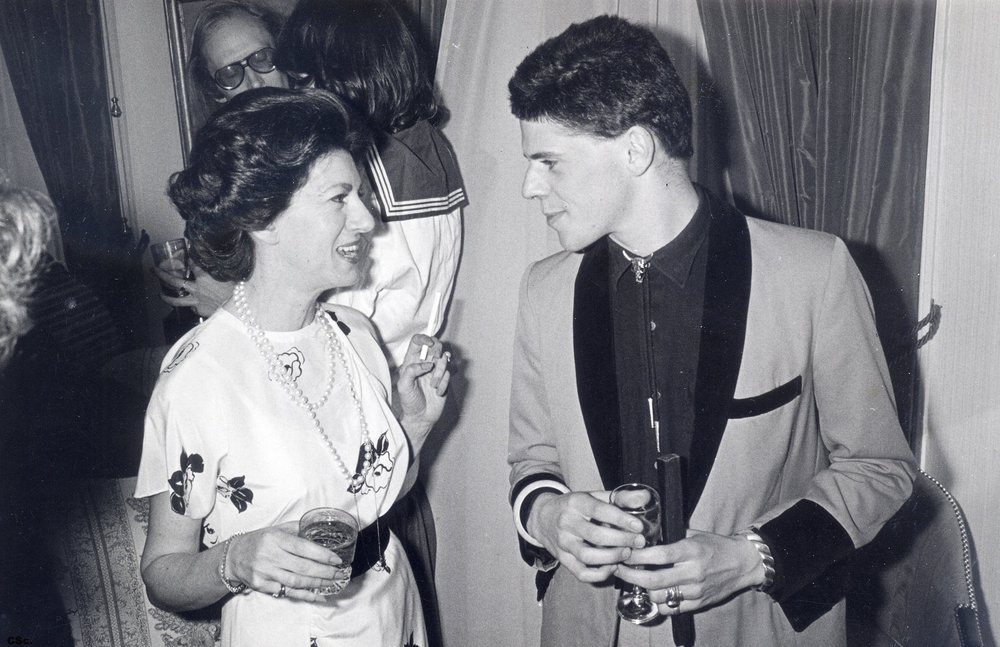 Judy/Chris Talking to a Princess Margaret Impersonator, 1978/79