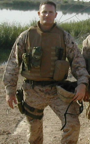 Lt. Col. Kevin M. Shea in Iraq 2014
