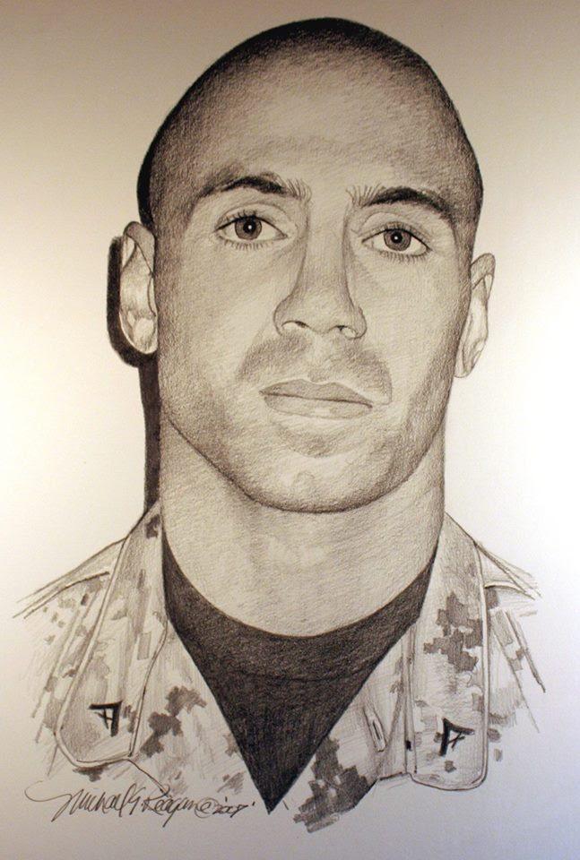 Lance Corporal Richard Buerstetta  January 22, 1986-October 23, 2006  KIA Fallujah Iraq