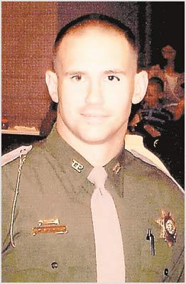 Cpl Shoemaker in his Tulsa PD uniform.