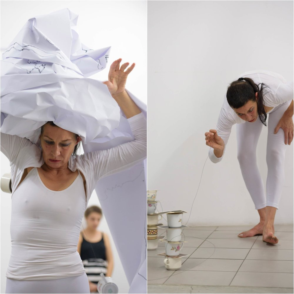 Live Performance, ' Language of Cup' , PLUS-MOTION, Performance Art Event, Cyprus 2016, photographed by Pavlos Vrionides