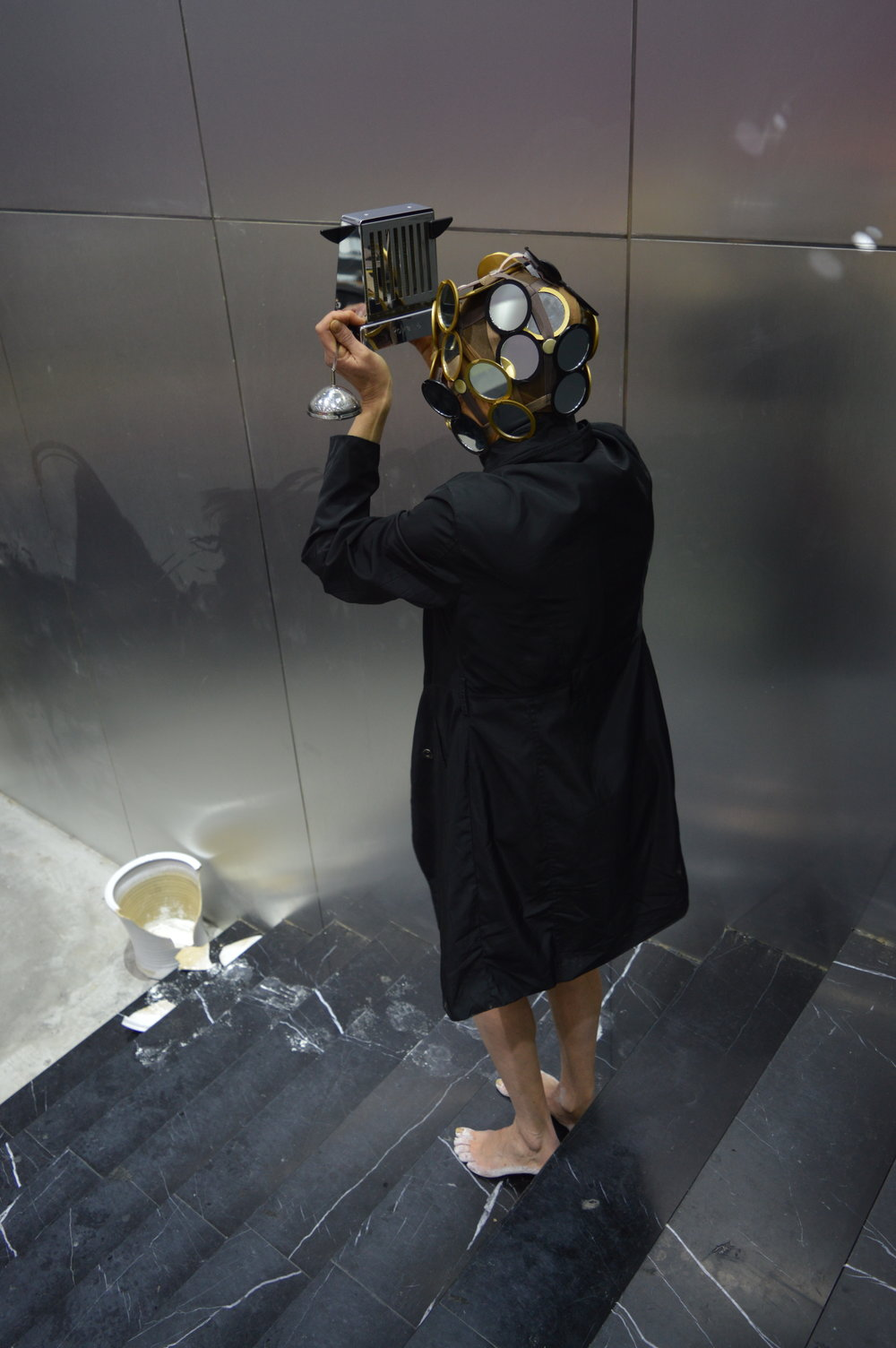 (excerpt)  inept desires 90 days before China (Part I) , Live Performance,    Changjiang Museum of Contemporary Art - Parabiosis/Experiment-Transcendence - Chongqing, China    photographed by JIAYI HU