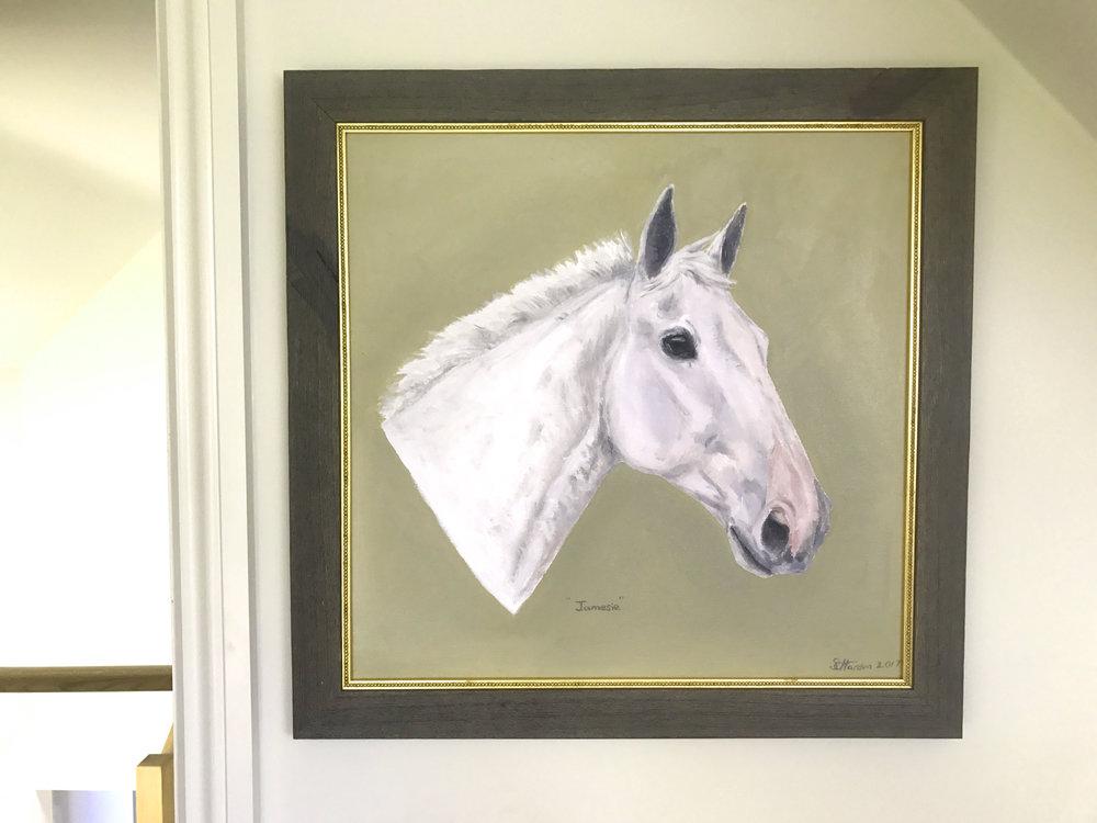 'Jamesie' Oil on canvas