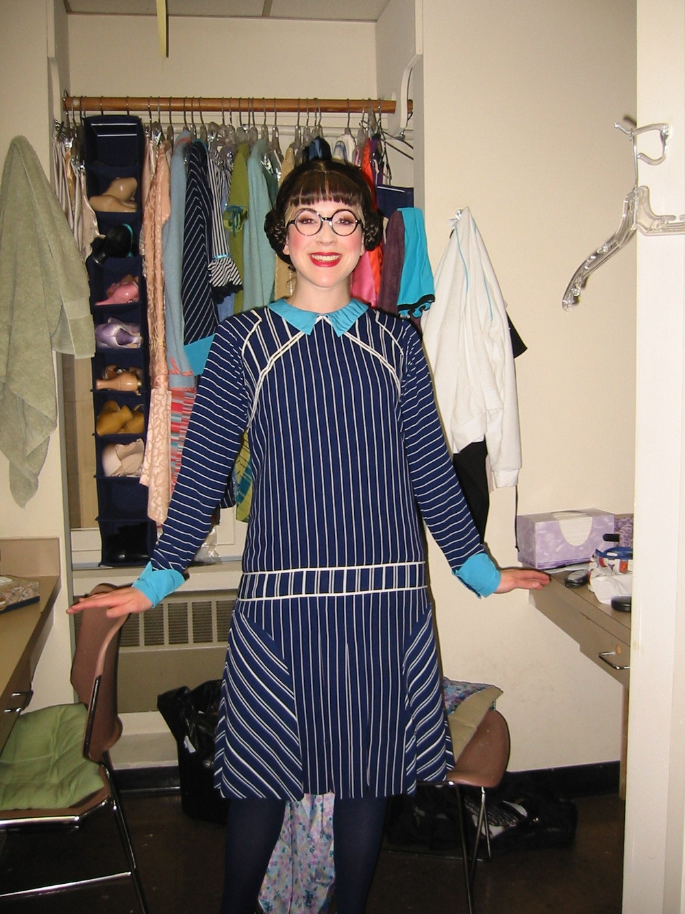 Thoroughly Modern Millie, backstage