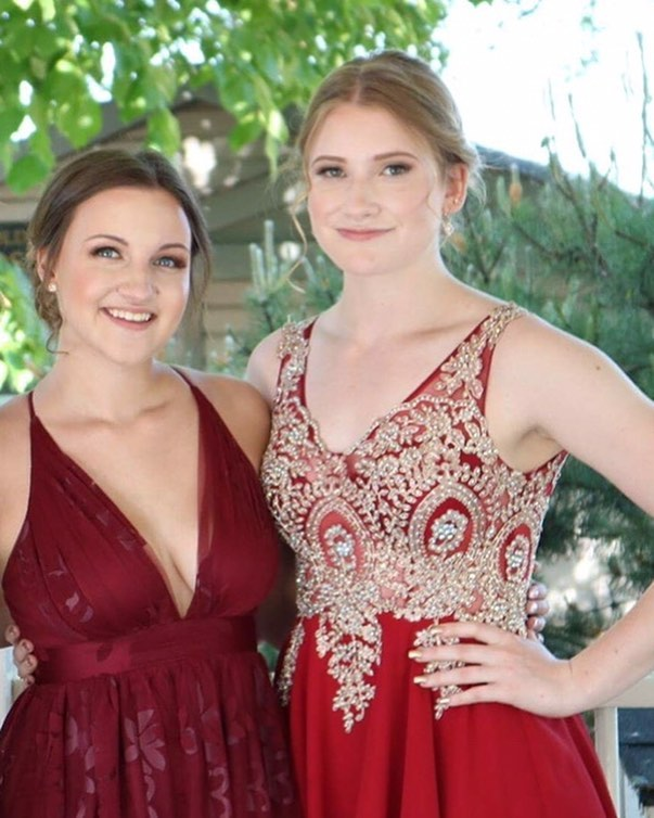 Check out these two stunning ladies at  prom earlier this month!! It's been a busy month filled with appointments.