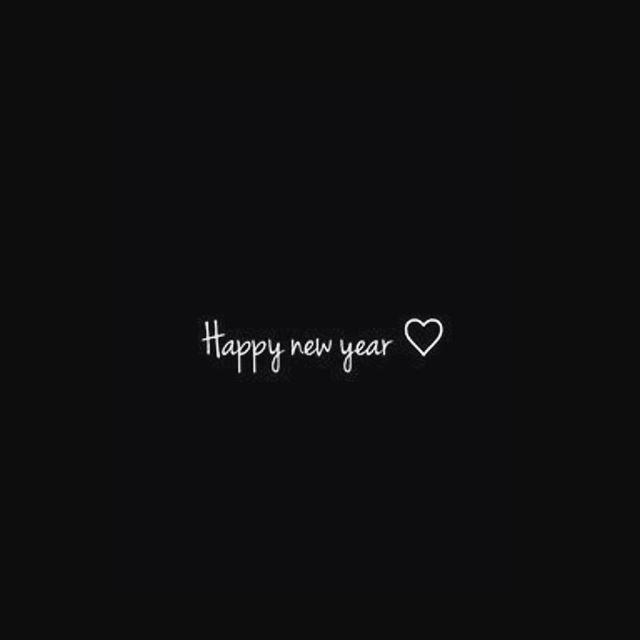 Wishing you a fresh start to an amazing year 🖤 the BIRCH girls #2018