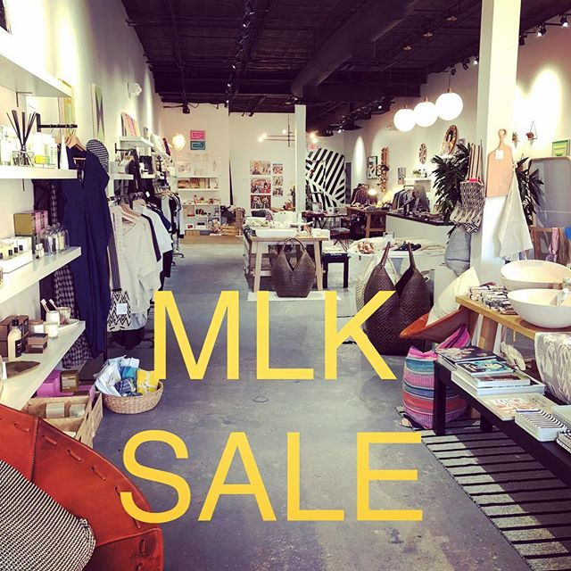 MLK Day storewide SALE. 20% of everything in the shop + even bigger savings on our winter clearance. One day only. Shop til ya drop, amigos💫 . . . . . #shopsmall #shoplocal #mlkdaysale #htx #shophtx #birch #birchmercantile