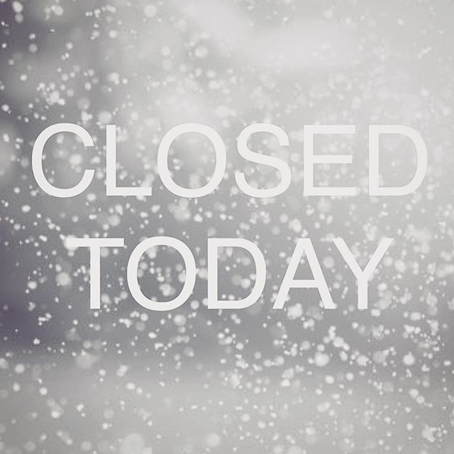 Stay home, stay warm. See you tomorrow ❄️ #snowday