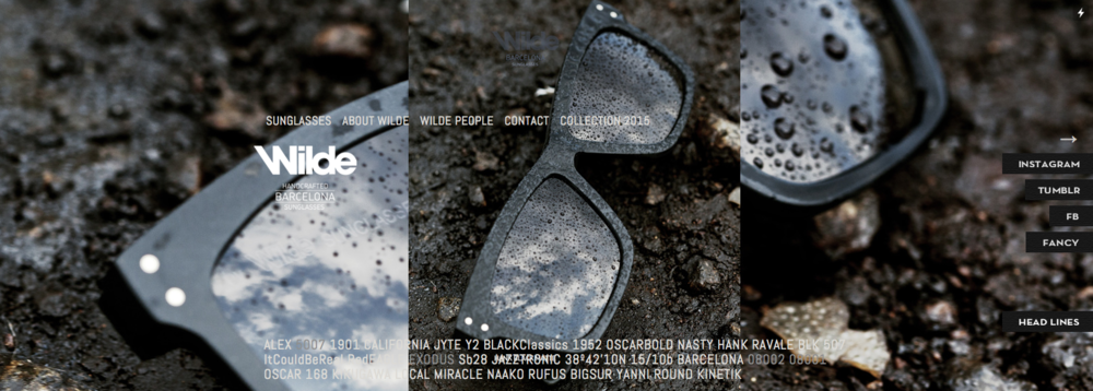 WILDE SUNGLASSES   #photography #artdirection #campaign #creativedirection #adintegreation