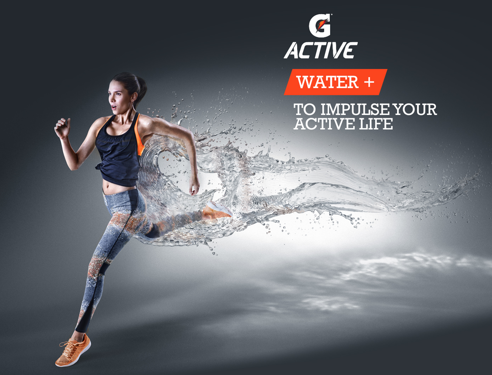 GATORADE G ACTIVE / sports / advertising