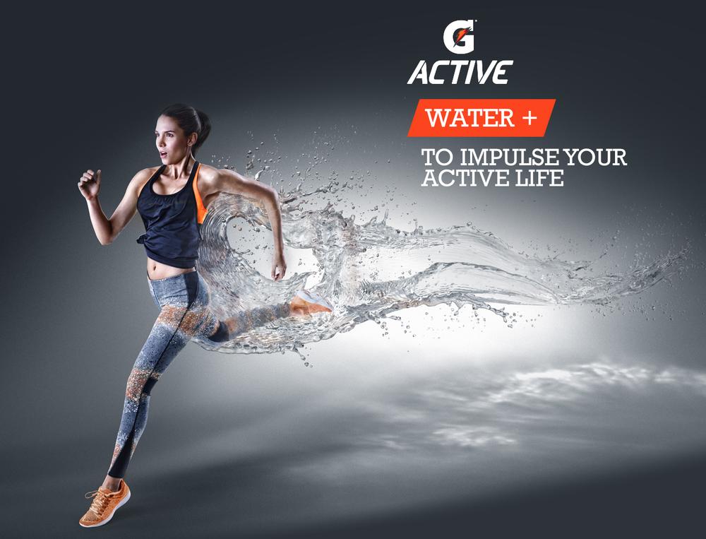 GATORADE G ACTIVE / sports / advertising