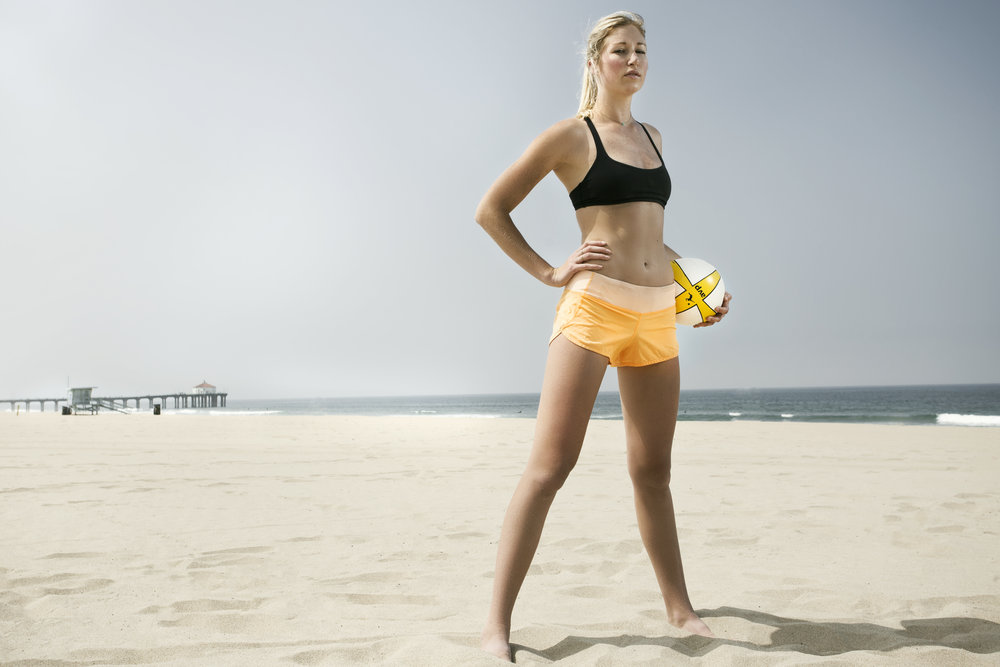 KARSTA LOWE U.S VOLLEYBALL / sports / portrait